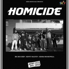 Homicide - Sidhu Moose Wala